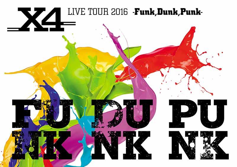 X4 LIVE TOUR DVD FUNK DUNK PUNK