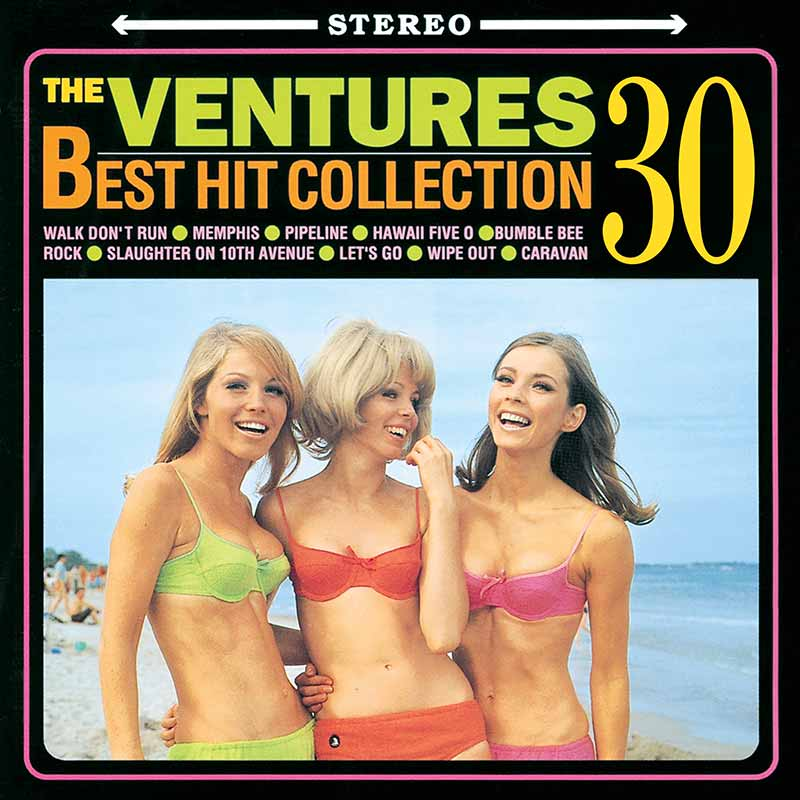 THE VENTURES BEST HIT COLLECTION 30